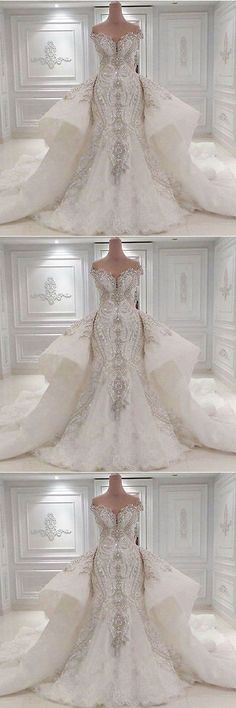 Wedding Dresses: New Luxury Ivory/White Wedding Dress Bridal Gown Custom Size 8 10 12 14 16+++ -> BUY IT NOW ONLY: $80.0 on eBay!