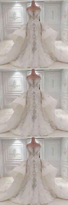 Wedding Dresses: New Luxury Ivory/White Wedding Dress Bridal Gown Custom Size 8 10 12 14 16+++ -> BUY IT NOW ONLY: $80.0 on eBay!
