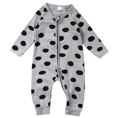 b07e6b82d2fc 2017 new arrival Spring Autumn Baby Boys clothes Polka Dot baby Romper long  sleeve Jumpsuit Outfits Winter Newborn baby Clothing