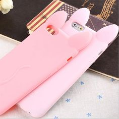 2016 Cute Cartoon Character KOKO Cat Ears Pink Red Black Girls phone Case For Apple iphone 5 5s Se Soft Capa Silicone Cover #>=#>=#>=#>=#> Click on the pin to check out discount price, color, size, shipping, etc. Save and like it!