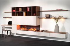 Eindhoven, Home Fireplace, Tv Cabinets, Storage Shelves, Floating Shelves, Couch, Living Room, Interior Design, Inspiration