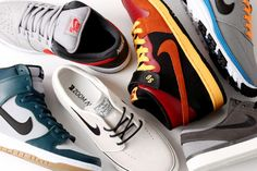 Nike SB May 2013 Sneaker Collection