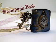 ▶ DIY: How To Make a Miniature Steampunk Book with Polymer Clay - YouTube