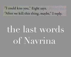 Omg <3 I've read it twice and still hadn't thought to check what their last words together were