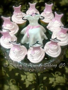 Bridal Shower Cupcakes - Cake by KnKBakingCo