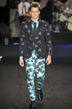 Hawaiian suit by Moschino SS12