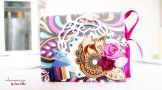 Mini Album Scrapbook  designed by Amor Villar with paper's collection Grand Bazaar Basi Grey,