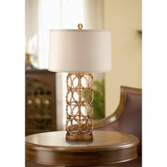 Zola Gold Ring Table Lamp