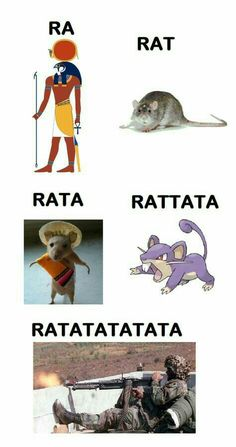 Ra, rat, rata, rattata, ratatatatata, erm you missed ratatatatatatatatatata from I Did Something Bad by Taylor Swift in Reputation HOW BOUT DAH