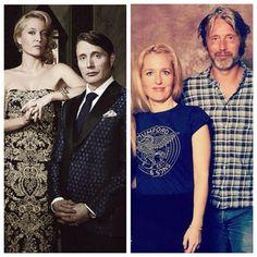 Bedelia and Hannibal/Gillian and Mads