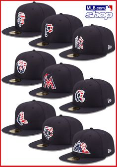 Check out the MLB Online Shop for more cool gear like the exclusive Stars and Stripes New Era caps!