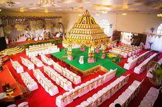 Wedding Hall Decorations, Marriage Decoration, Flower Decorations, Indian Wedding Stage, Indian Wedding Planning, Wedding Mandap, Wedding Ceremony Backdrop, Wedding Prep, Wedding Beach