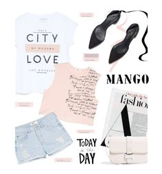 Mango by pisces7 on Polyvore featuring polyvore fashion style MANGO women's clothing women's fashion women female woman misses juniors mango summerstyle