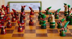 Vintage original chess set from Soviet Union-Vilnius(Lithuanian)-1980's…