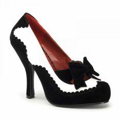 2978f3973c8d54 SALES % SOFORT Sehr schöne Damen High-Heels Pumps weiß Lack   schwarz Samt  Gr 43