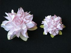SIMPLY PAPER: Shabby Crinkle Flower Tutorial