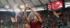 Will never forget this #TottiSelfie at the classic #DerbyDellaCapitale ! Forza Roma sempre....