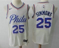 Men's Philadelphia 76ers #25 Ben Simmons Cream Nike City Edition Swingman Jersey