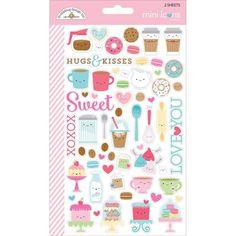 Doodlebug Mini Icons, Cream & Sugar - 4,60 €