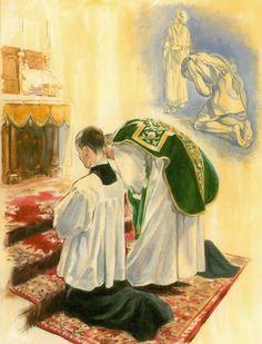 Confiteor Santa Missa de Sempre - Imagens - Associação Santo Atanásio