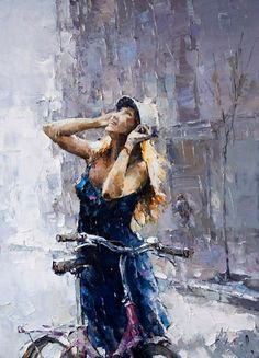 *Painting by Andre Kohn