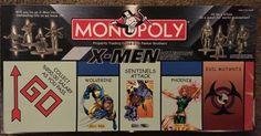 Monopoly Board, Monopoly Game, Milton Bradley, Traditional Games, X Men, Board Games, Finance, Video Games, Boards