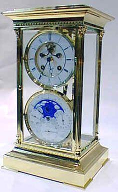 L'Epée pendulum gilded clock Brocot movement