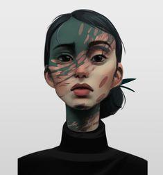 Portrait Photo studies, Lina Kit on ArtStation at https://www.artstation.com/artwork/4BvEk