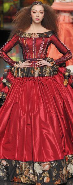 Christian Lacroix Haute Couture spring 2009