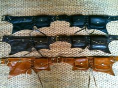 Leather Utility Belt  The Batman by ThaiArtistCollective on Etsy, $72.00