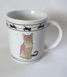 Cat Lovers Mug Abyssinian Mackerel Tabby Siberian Limited Collection Cat Lady Coffee Cup