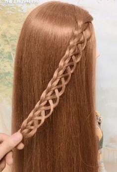 Easy Hairstyles For Long Hair, Braids For Long Hair, Braided Hairstyles, Braided Mohawk, Elven Hairstyles, Weird Hairstyles, Trendy Hairstyles, Hairstyle Ideas, Medium Hair Styles