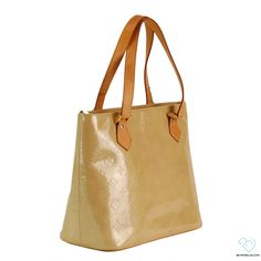 7a94ad772391 Louis Vuitton Monogram Vernis Gold Brentwood Tote | Biltmore Lux Louis  Vuitton Handbags, Louis Vuitton