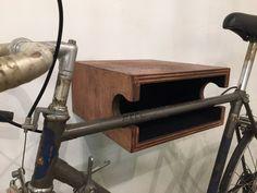 The WC Bike Shelf // Bike Rack // Reclaimed Wood by allwedoiswood