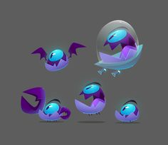 Spooky Characters on Behance