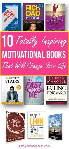 If you are looking for some good personal development books, these are a great start. You can change your mindset by what you read and these motivational books are the ones I started with when I wanted to have a positive mindset. Motivational Books, Inspirational Books, Motivational Tattoos, Good Books, My Books, Time Management Strategies, Personal Development Books, Change Your Mindset, Personal Goals