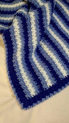 No Holes Baby Blanket (Easy!) By Linda Davie - Free Crochet Pattern - (ravelry)