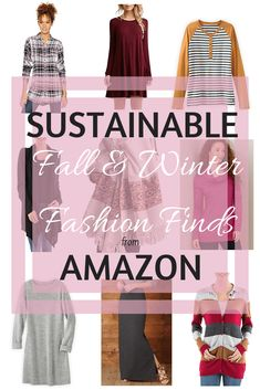Sustainable Fall and Winter Fashion Finds from Amazon - Instinctively en Vogue