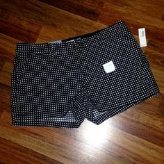 """NWT Old Navy Polka Dot Shorts NWT Old Navy Polka Dot Shorts. Perfect for spring and summer! Has 3.5"""" inseam and are true to size! Open to offers! Old Navy Shorts"""