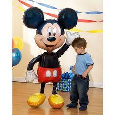 "BSSNS Mickey Mouse Airwalker 52"" Jumbo.Opens in a new window"