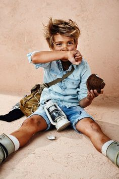 Denim Lookbook Kids