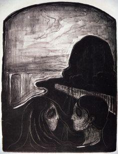 Edvard Munch (1863-1944) - 1896, Attraction I