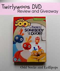 Twirlywoos DVD Review and Giveaway - sharing our review of There's Somebody at the Door