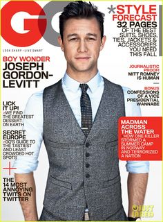 joseph gordon-levitt / GQ august 2012