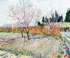 Vincent Van Gogh - Orchard With Peach Trees In Blossom II