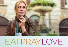 Eat pray love with Julia Roberts www.adayinrome.com loves Rome in the movies!