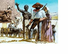 The Story of Africa: The Great Trek. The Boers set out to colonise the whole of South Africa, the first colonists setting out for the interior across the veldt from Cape Colony in History Images, Us History, African History, The Veldt, Cape Colony, Union Of South Africa, Best Documentaries, West Africa, Military History