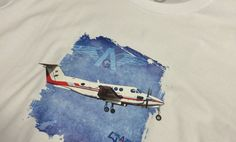 Air-Glacier-T-shirt-Beige-Bleu-Close Aviation, Sci Fi, Social Media, Beige, Instagram, Shirt, Science Fiction, Dress Shirt, Air Ride
