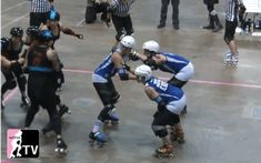 """Killing fun in roller derby, one gif at a time."" What it says on the tin. If you play roller derby,..."