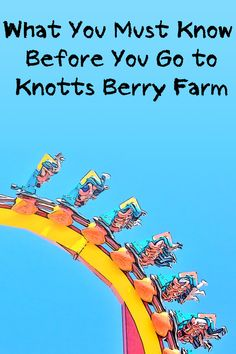 Knotts Berry Farm visitors have a lot of fun, but you might have even more after you finish checking out the tips in this expert guide.